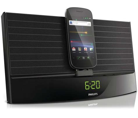 philips  fidelio docking system  android devices  tech journal