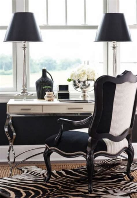 Black And White Desk Chair Design Ideas 5 Black And White Home Offices T A N Y E S H A