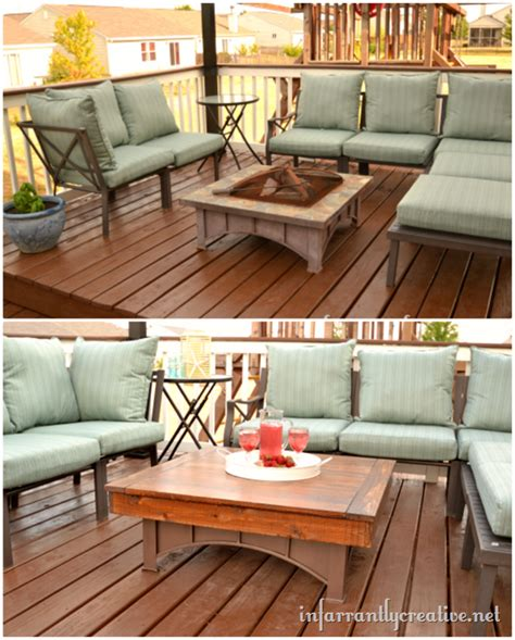 pit that converts to table outdoor coffee table
