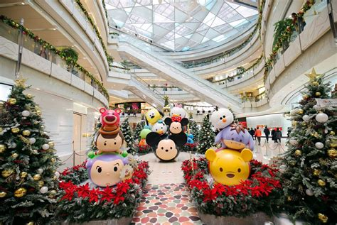 shopping in shanghai during new year tsumtsum carnival makes debut at ifc at ifc mall