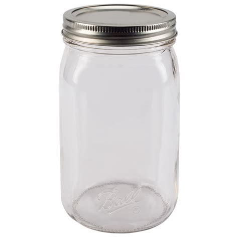 what is a jar 174 smooth sided wide quart 32 oz glass jars 12 count