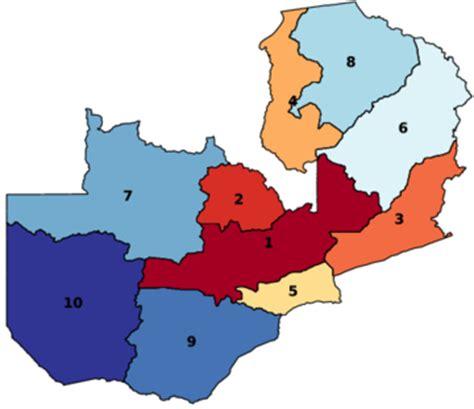 Zambia Search Provinces Of Zambia