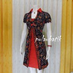 D 028 Vshape Dress Dress Wanita busana dress batik pesta db169 pesan sekarang sebelum