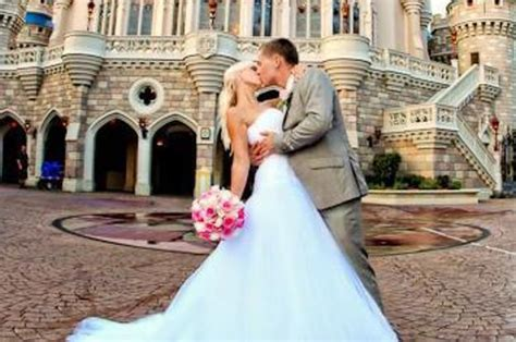 Brides Can Be Cinderella For A Day With Disney World's New Wedding Experience