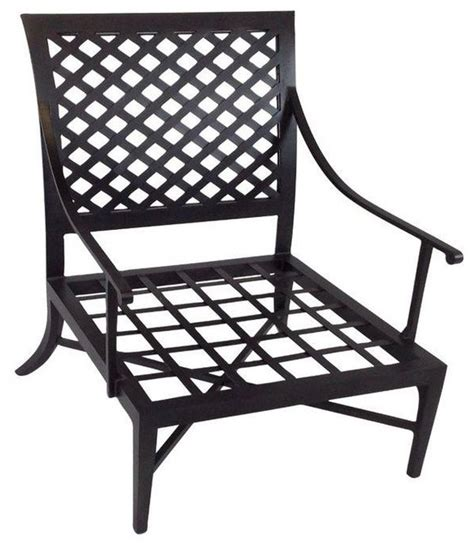 pre owned kreiss montoro patio lounge chair transitional