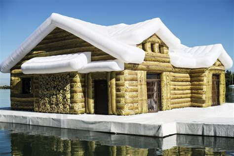 inflatable house inflatable snow house by kolkoz miami beach ozonedesign lifestyle