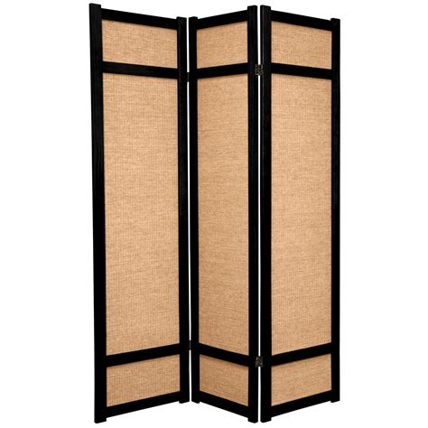 Japanese Room Divider 6 Ft Jute Shoji Screen Roomdividers