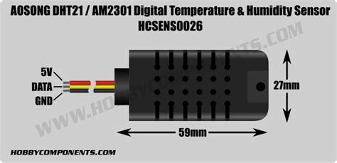 polymer humidity capacitor forum hobbycomponents view topic dht21 am2301 temperature humidity sensor hcsens0026