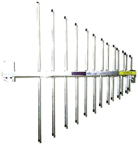 antenna log periodic 13 elements continuous coverage 140 450 mhz pkw lp13ev us ebay