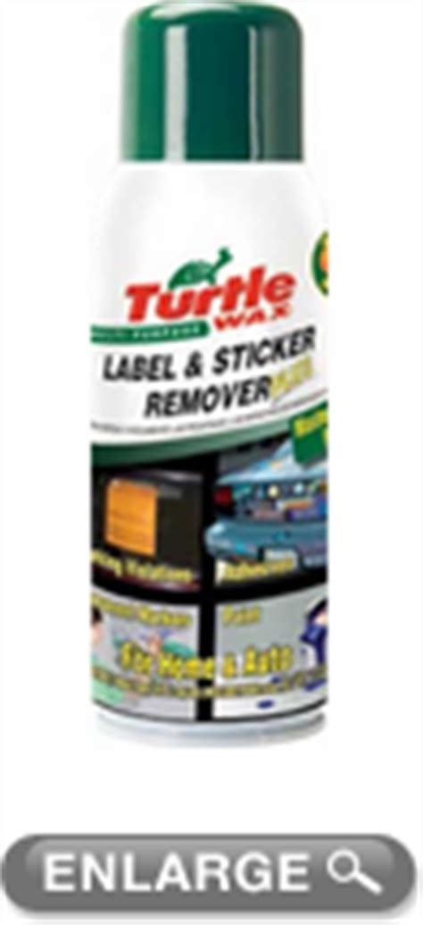 Turtle Wax Label And Sticker Remover Ingredients