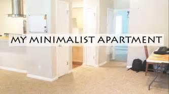 minimalist apartment tour minimalist apartment tour rv to simple spacious living