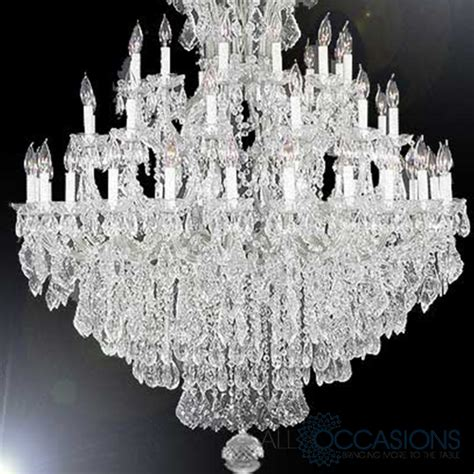 Event Chandeliers Chandelier 37 Light Large Marbella Event Furniture And Decor Rental