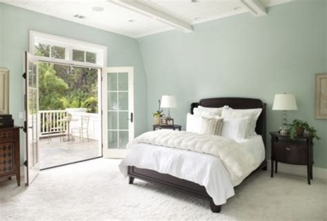 Bedroom Paint Color Schemes Wicker Stitch Tranquil Bedroom Colour Scheme