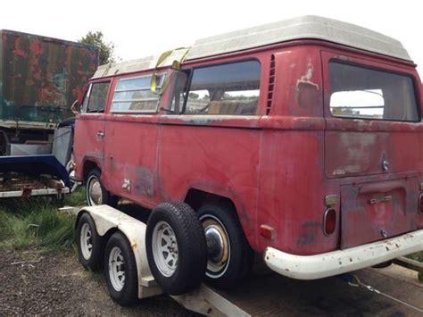 purchase   vw bus westfalia camper pop top original paint kombi van volkswagen