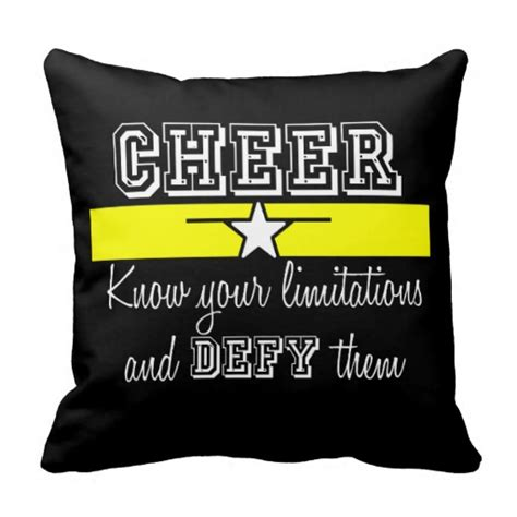 Cheer Pillows by Cheer Pillows Cheer Throw Pillows