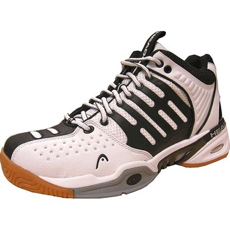 radical pro mid racquetball shoes white black