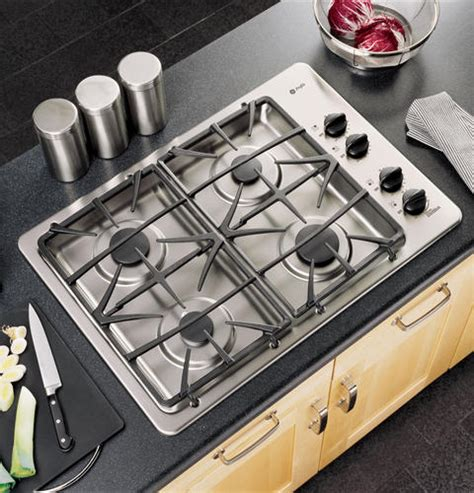 Ge Profile 30 Gas Cooktop ge profile 30 quot built in gas cooktop jgp933sekss ge appliances