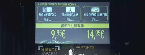 fastweb mobile ecco le nuove e attese offerte tutto