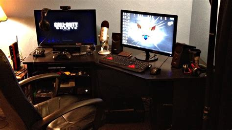 how to make a gaming setup 50k subscribers 2014 gaming setup thank you youtube