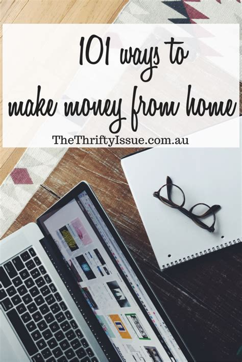 Ways To Make Money From Home Online - 101 ways to make money from home