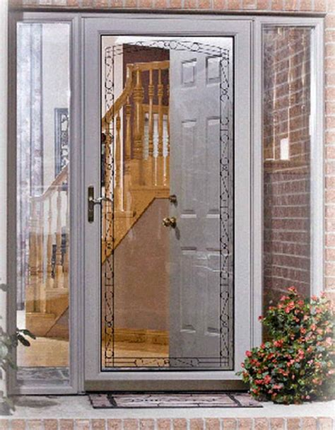 Door With Screen And Glass by Impress Your Guest With This 4 Designs Of Door