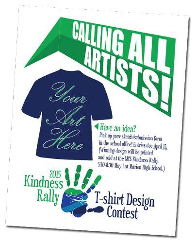 idea design contest kindness rally t shirt design contest submit your idea