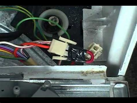 lid switch bypassing ge front serviceable washer youtube