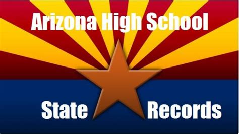 Arizona State Records All Time Arizona Boys State Track Records