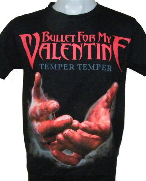 bullet for my temper temper bullet for my t shirt temper temper size m roxxbkk