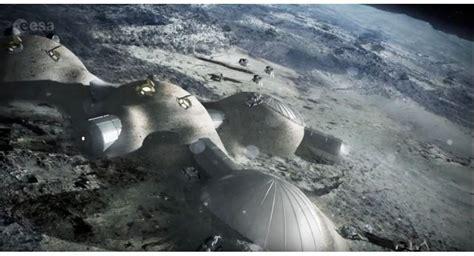 Menyelidiki Ruang Angkasa Bulan badan ruang angkasa eropa akan bangun pemukiman di bulan liputan islam