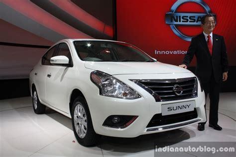 nissan sunny 2014 white auto expo 2014 nissan sunny facelift revealed