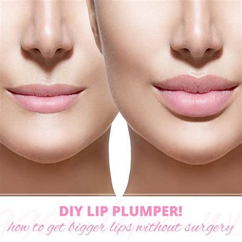 Lip Plumbing by Get With A Diy Lip Plumper From S Best