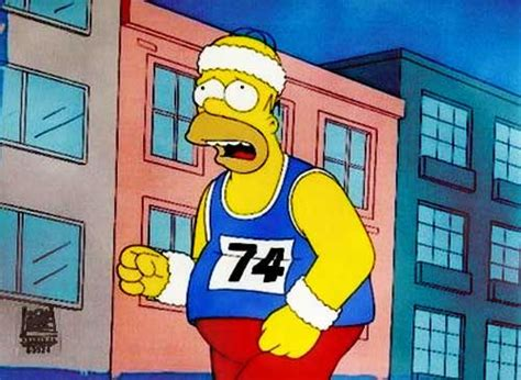 Simpsons Unrealistic Goal by How To Start Exercising And Keeping Fit During Exams