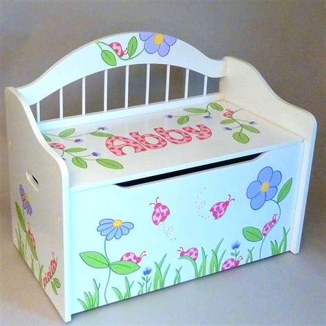 personalized toy box bench personalized deacon s bench toy box white toy boxes