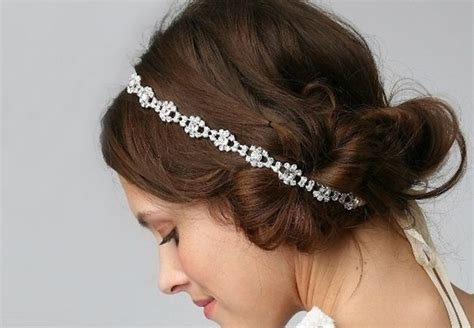 headband shapes and hairstyles 17 best ideas about wedding headband hairstyles on