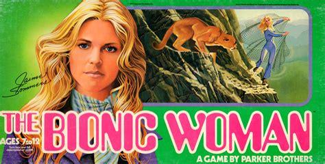 bionic woman board game  retro hound