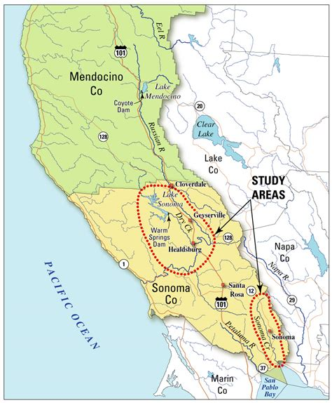 Sonoma County Search Usgs California Water Science Center Water Resources Availability And Management In