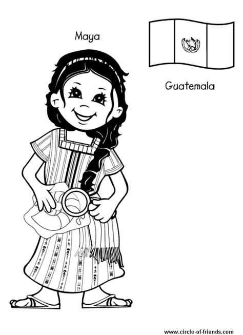 guatemala map coloring page free coloring pages of world map children