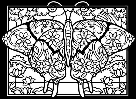 difficult butterfly coloring pages insects coloring pages for adults coloring adult