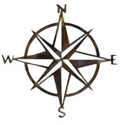 compass clip compass wall northwest metal creationsnorthwest