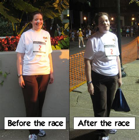 to 5k before and after a midsummer s run through hell pastaqueen