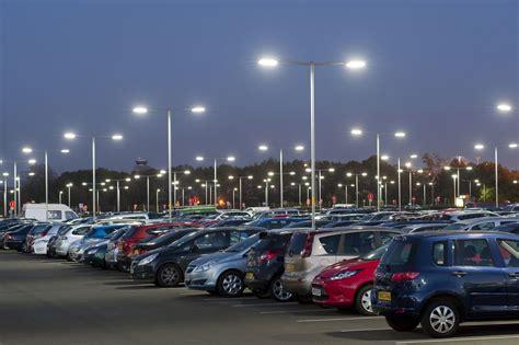 car park led lighting reduces newcastle airport car park lighting costs by 70 uk airports information