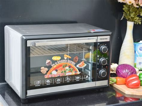 Oven Pensonic pensonic pen peo 3500 electric oven silver lazada malaysia