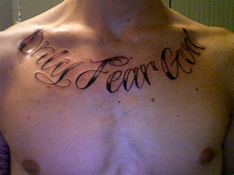 fear god tattoo only fear god picture at checkoutmyink