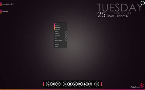 theme windows 7 zune 20wt mod zune litestep theme by esamdg on deviantart