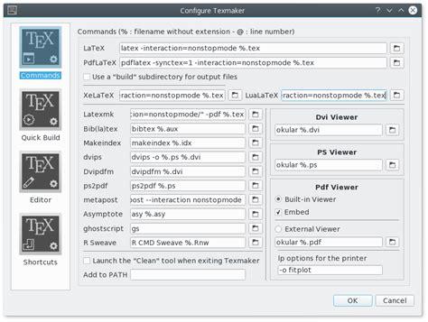 texmaker  cross platform latex editor