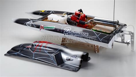 fast gas powered rc boats exceed racing fiberglass spider 26cc gas powered artr