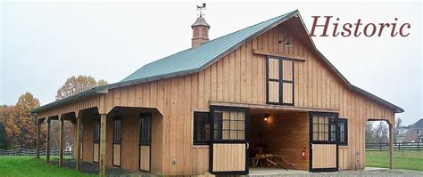 amish built pole barns custom barns arenas barn restoration pole