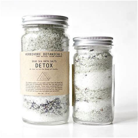 Sea Salt Detox Bath Recipe by Detox Bath Salts Dead Sea Salt Cambrian From