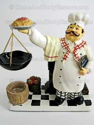 Chef Kitchen Decor Items by Yankee Candle Chef Tart Warmer Wax Burner Home Decor